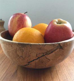 Skål i æbletræ